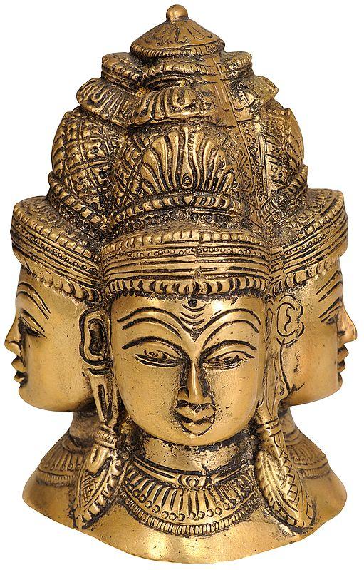 Mukhalingam (Four Faces of Shiva)