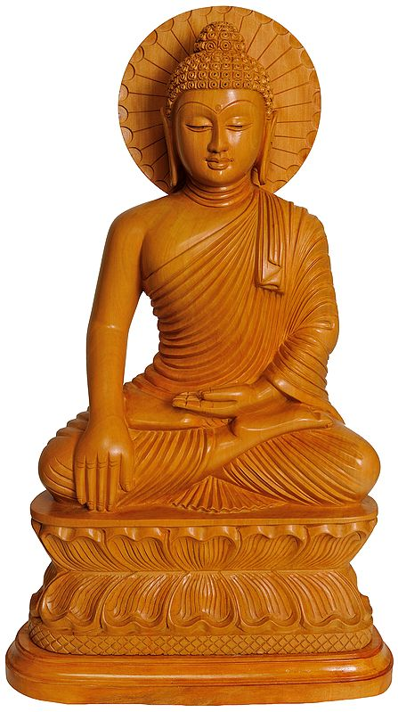 Lord Buddha in Earth Touching Gesture