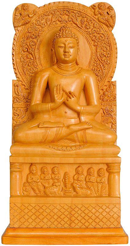 Lord Buddha in Dharmachakra Mudra (Sarnath Buddha)