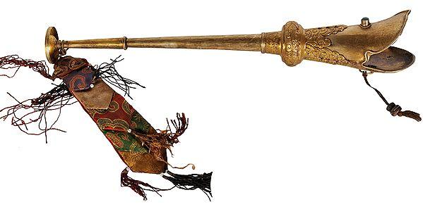 Tibetan Buddhist Monastery Trumpet