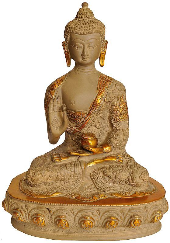 Lord Buddha in Preaching Mudra