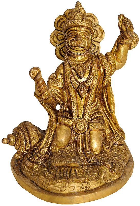 Shri Hanuman Ji Singing the Glory of Shri Rama Katha