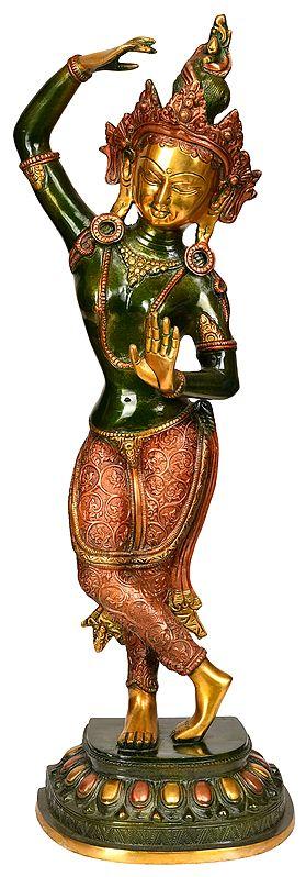 Tibetan Buddhist Maya Devi - Mother of Shakyamuni Buddha