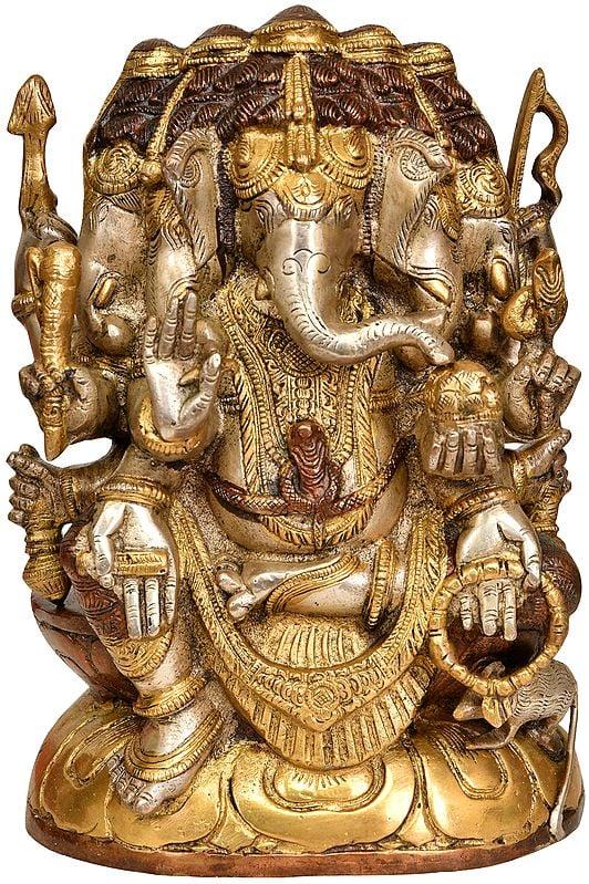 Five Headed Lord Ganesha