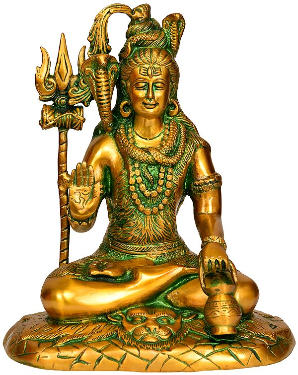 Lord Shiva with Kamandalu