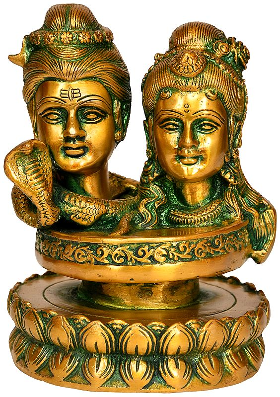 Shiva Parvati (Mukha Linga)