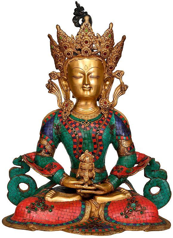 Large Size Amitabha Buddha (Tibetan Buddhist Deity)