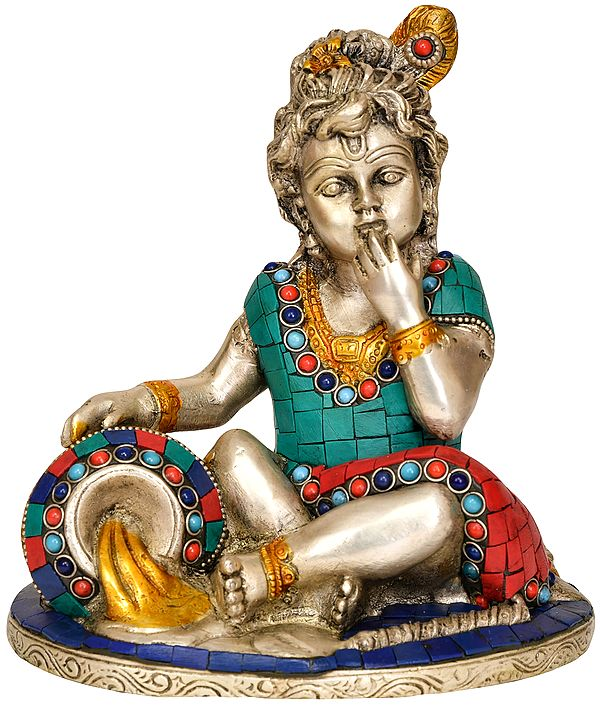 Baby Krishna - The Butter Thief
