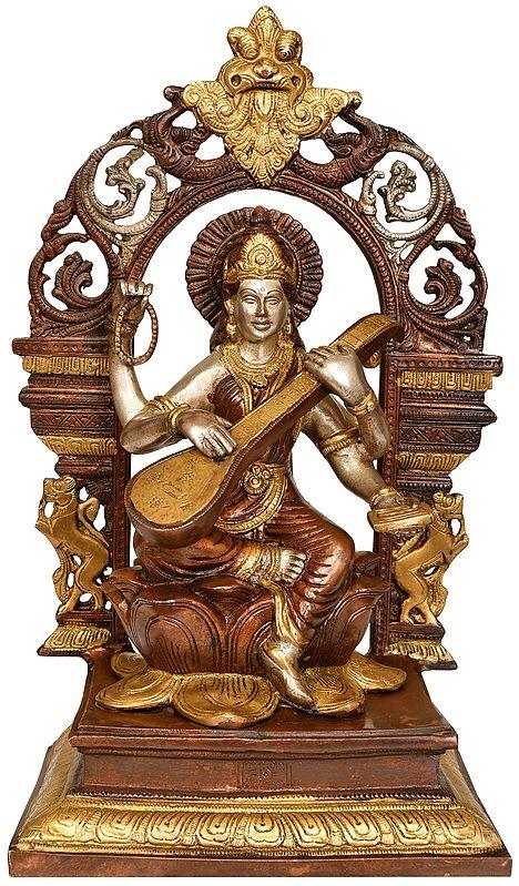 The Goddess of Music -Saraswati