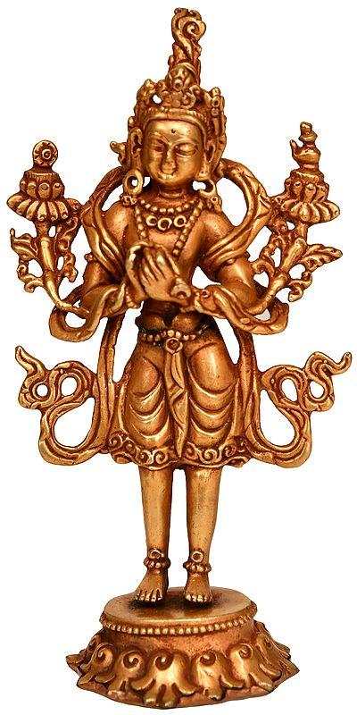 Tibetan Buddhist Maitreya Buddha