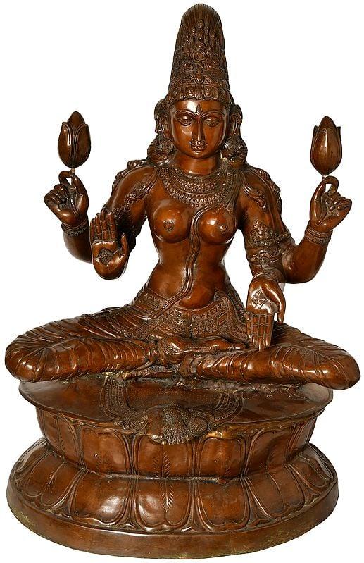 Contemplative Devi Lakshmi