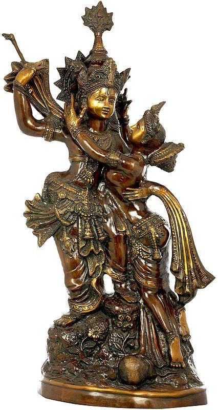 Large Size Radha and Krishna