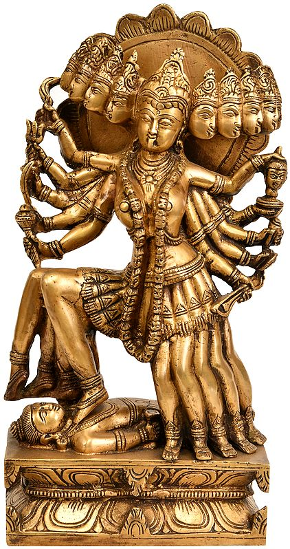 Ten Headed Goddess Kali