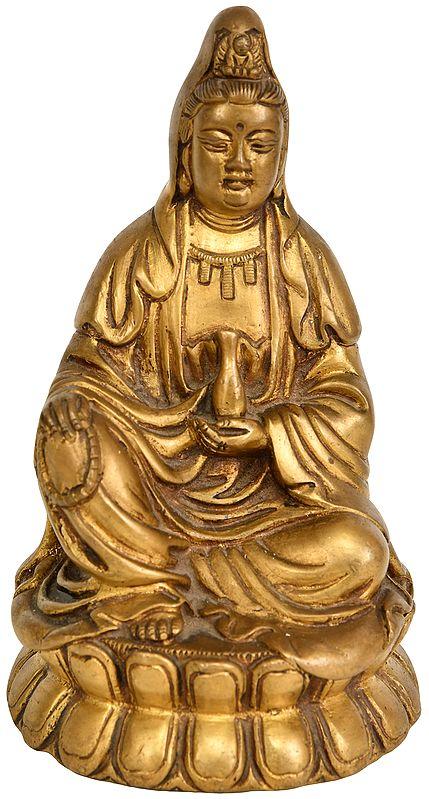 Japanese Buddhist Kuan Yin -Goddess of Compassion
