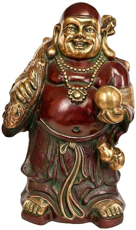 Big Statue of Laughing Buddha