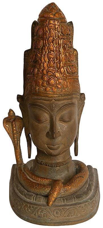 Shiva Head (Mukhalinga)