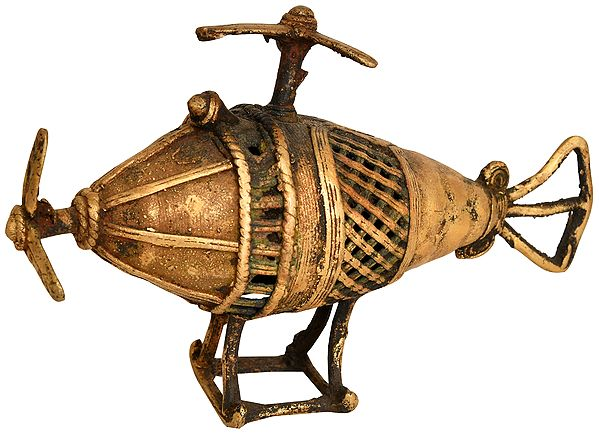 Helicopter (Tribal Statue from Bastar)