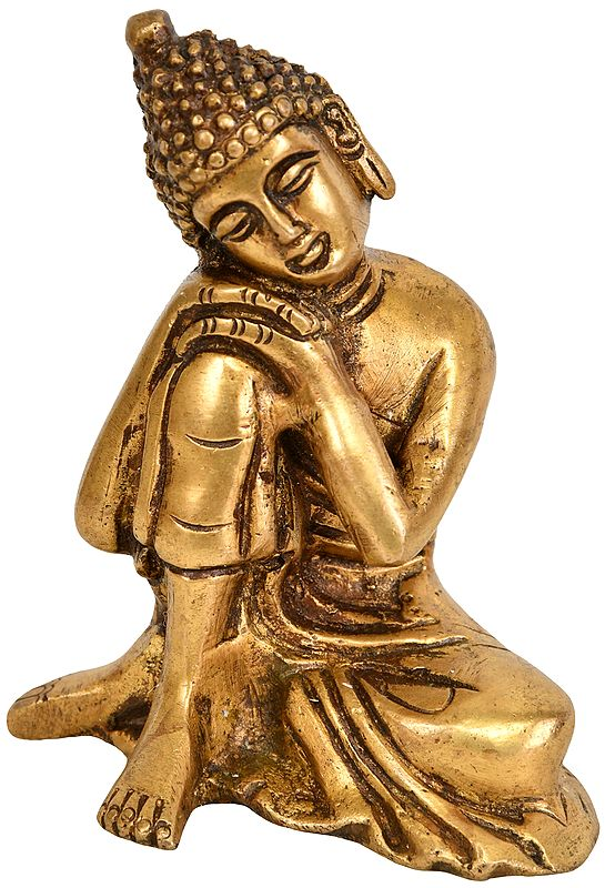 Thinking Buddha -Tibetan Buddhist Deity