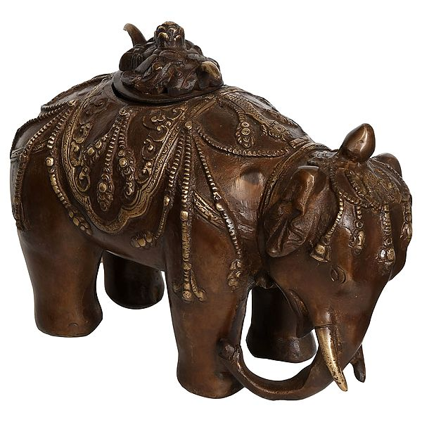Elephant Incense Burner (Tibetan Buddhist)