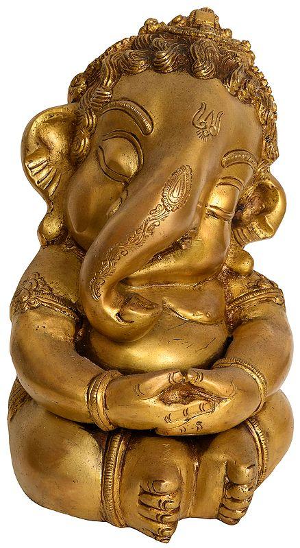 Cute Baby Ganesha