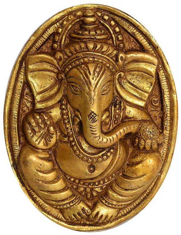 Blessing Ganesha Wall Hanging
