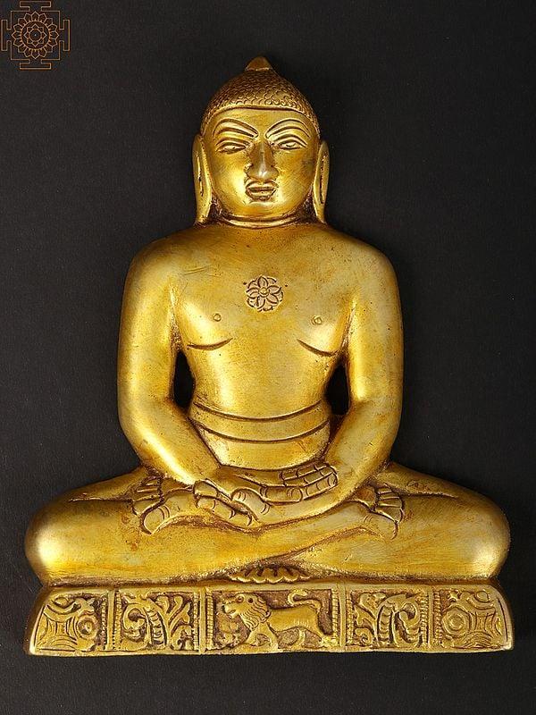 The Last Jain Tirthankara 'Mahavir' (Wall Hanging Flat Statue)