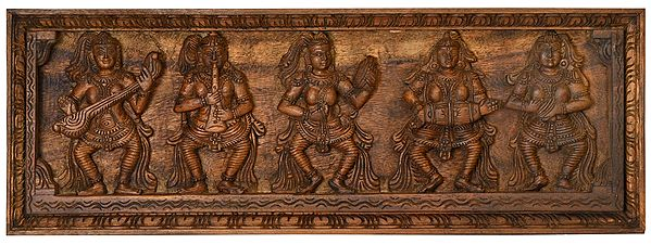 Heavenly Apsaras Musical Panel