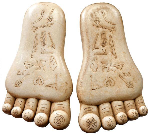 Auspicious Lotus Feet