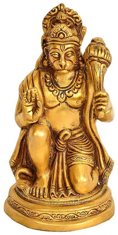 Hanuman Ji in Ashirwad Mudra