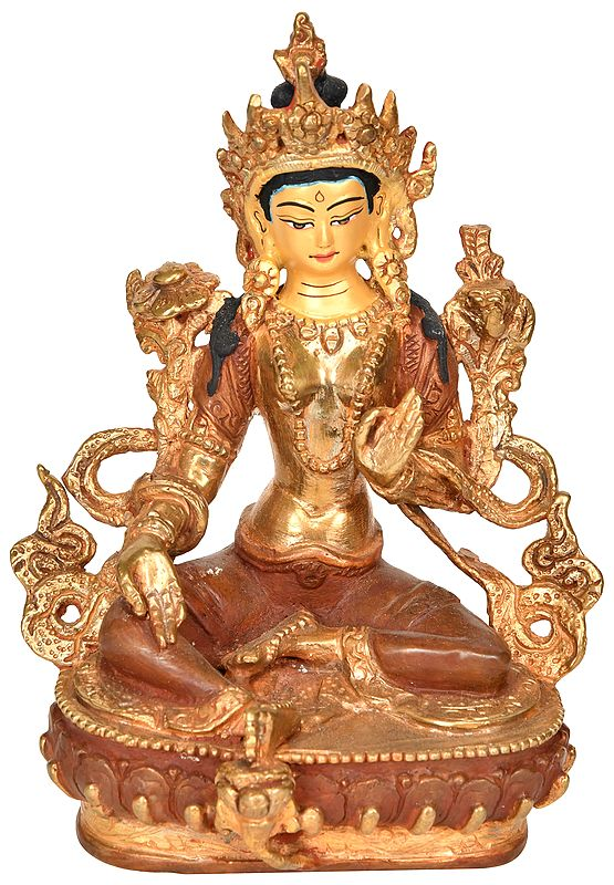Tibetan Buddhist Deity Green Tara - Made in Nepal