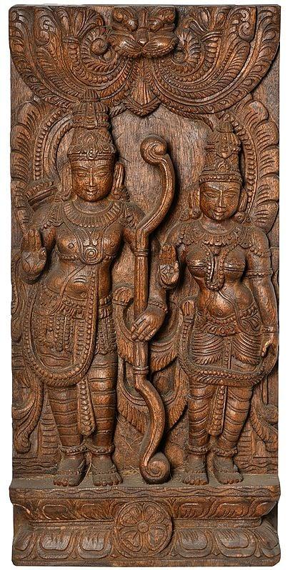 Rama Sita (Wall Hanging)