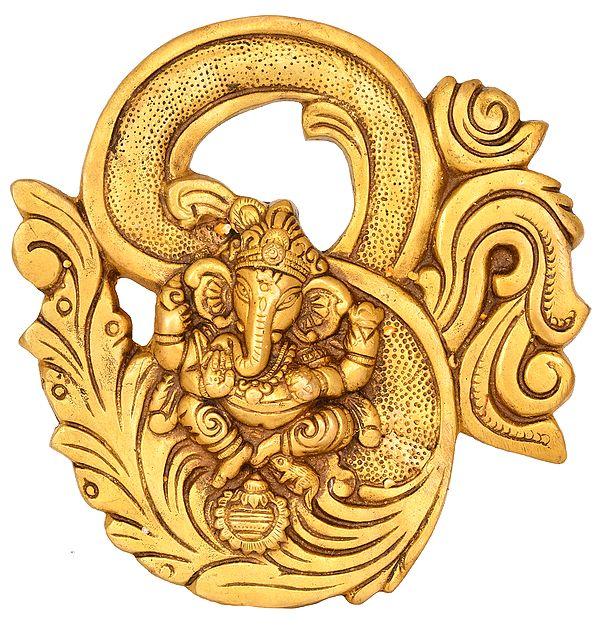 OM (AUM) Ganesha Wall Hanging
