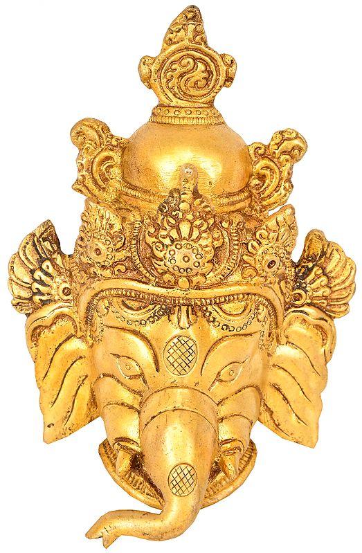 Lord Ganesha Mask (Wall Hanging)