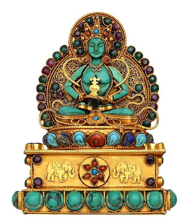 Amitabha Buddha (Tibetan Buddhist Deity) - Made in Nepal
