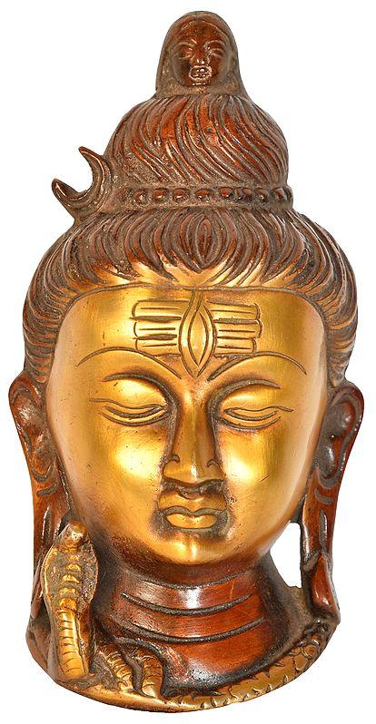 Lord Shiva Wall Hanging Mask
