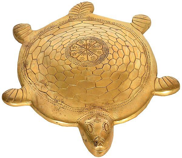 Large Vastu Tortoise with Yantra Underneath