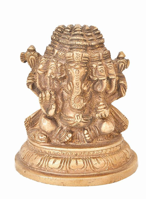 Panchamukhi Ganesha (Small Statue)