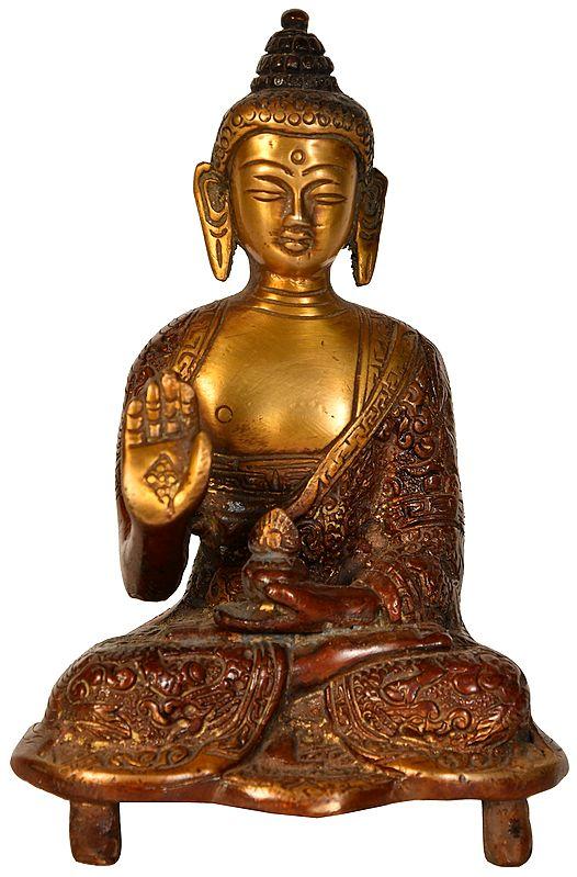 Buddha Granting Abhaya
