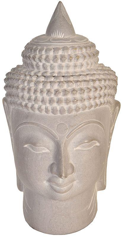 Tibetan Buddhist Deity Buddha Head