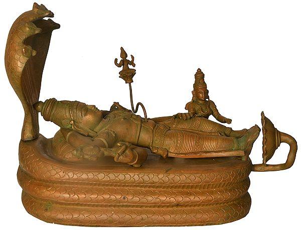 Shesha-Shayi Lord Vishnu