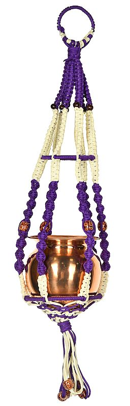 Decorative Hanger with Auspicious Kalash