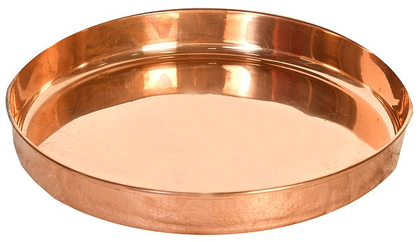 Traditional Copper Thali
