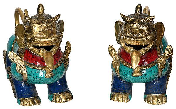 Leonine Temple Guards