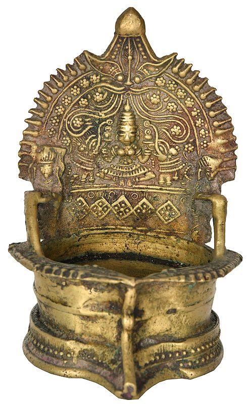 Gajalakshmi Puja Diya