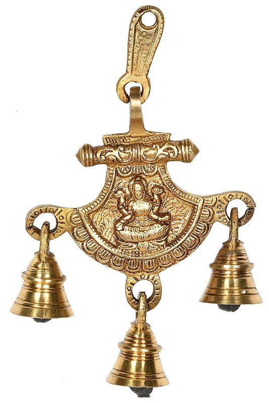 Goddess Lakshmi Hanging Bells