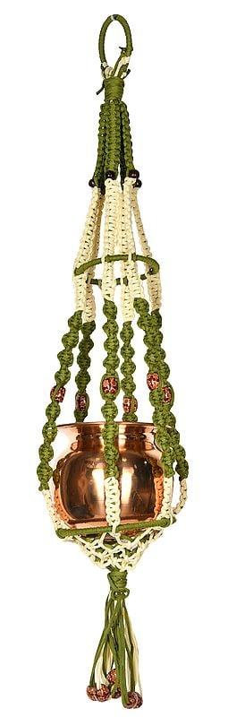 Decorative Hanger with Auspicious Kalash