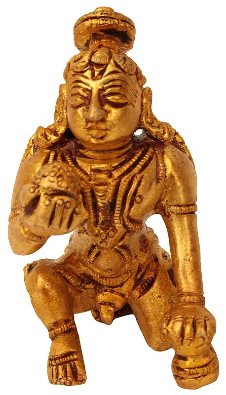 Laddoo Gopala (Small Statue)