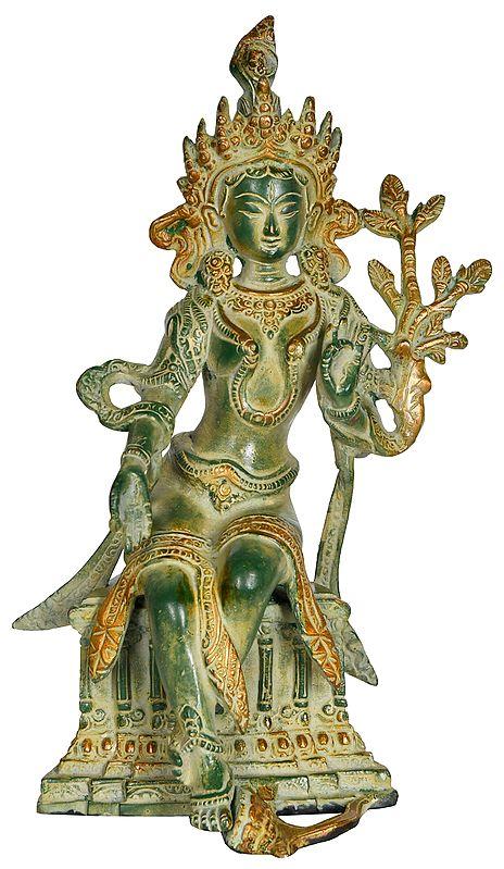 Seated Tibetan Buddhist Goddess Tara