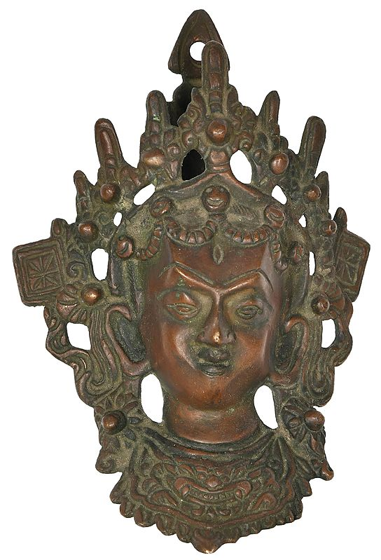 Chamunda Devi Wall Hanging Mask