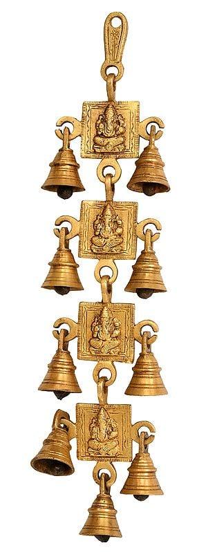 Ganesha Wall Hanging Bells